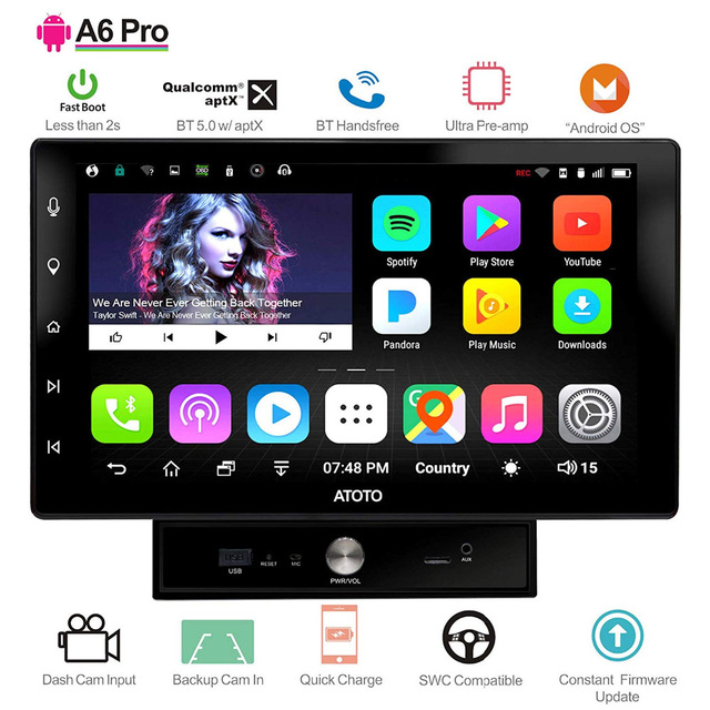 Atoto-A6-Pro-Android-Car-Stereo-2